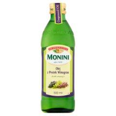 Olej Monini z pestek winogron