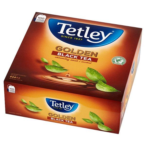 Herbata Tetley Golden czarna 100*2g