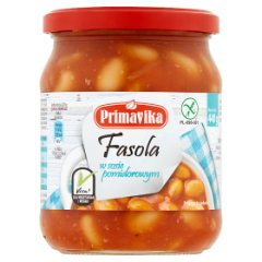Fasolka Primavika w pomidorach