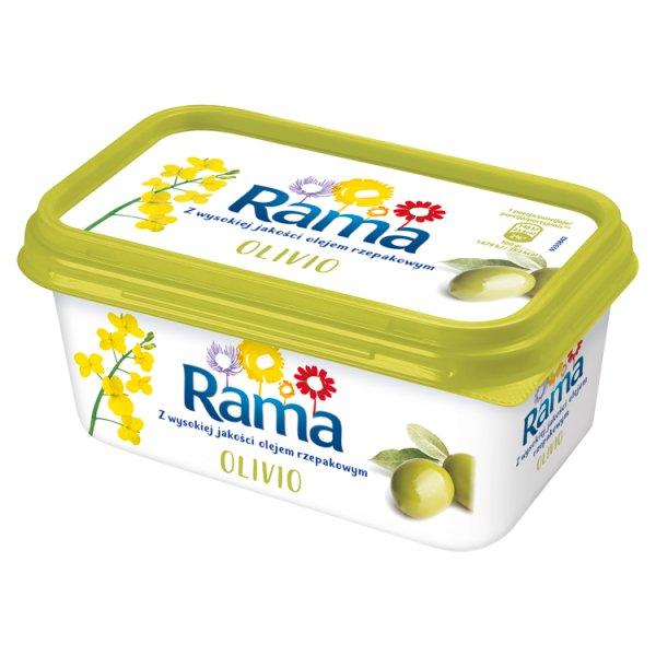 Rama Olivio margaryna półtłusta tł.39%z oliwą z oliwek