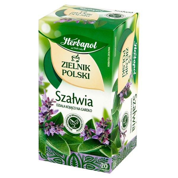 Herbata Zielnik Polski Szałwia 20*1,2g