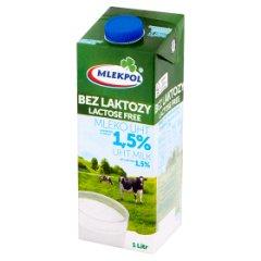 Mleko bez laktozy uht 1,5%