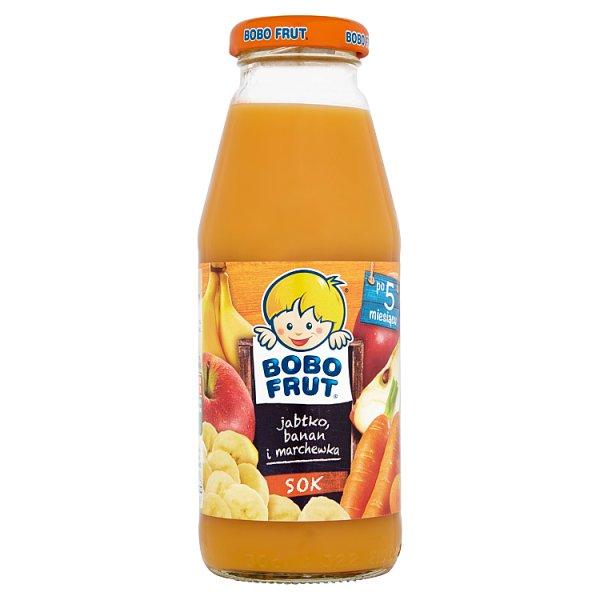 Sok Bobo Frut jabłko banan i marchewka