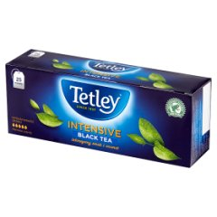 Herbata Tetley Intensive Black 25*2g