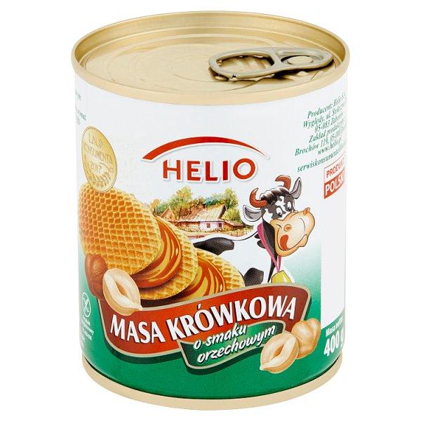 Masa krówkowa Helio o smaku orzechowym