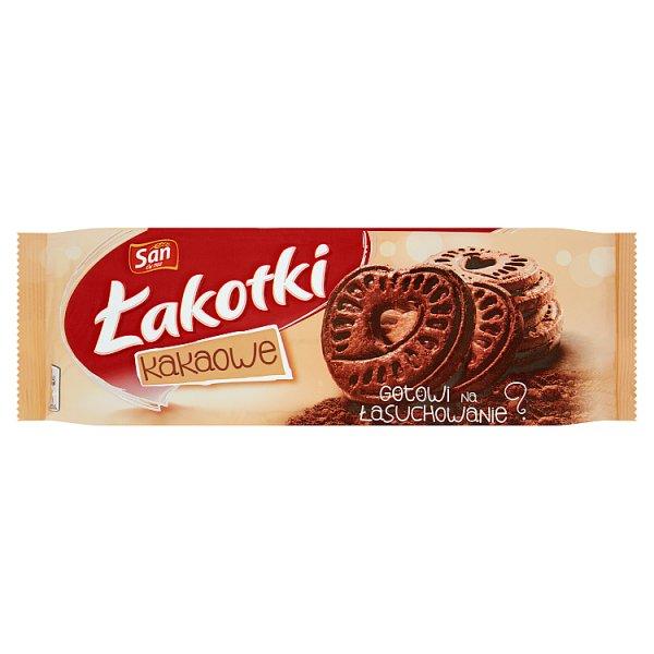 San Łakotki Herbatniki kakaowe 168 g