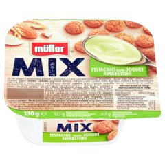 Jogurt Muller Mix Pistacja Amarettini