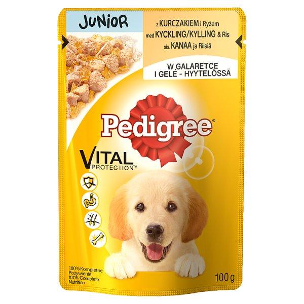 Karma Pedigree Junior z kurczakiem (P)