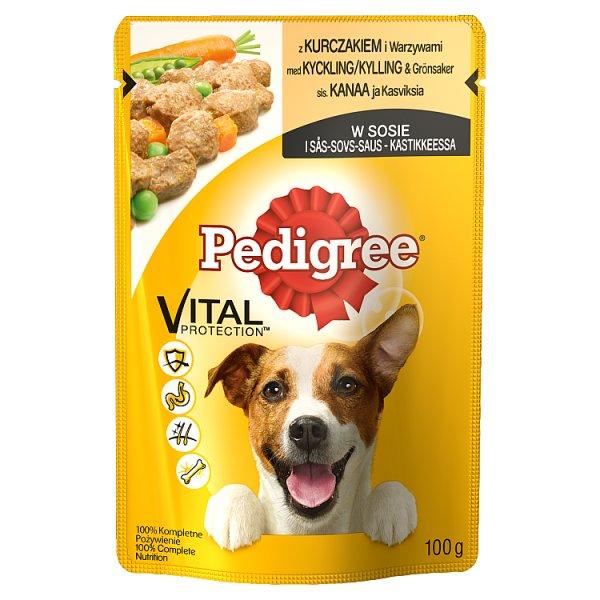 Karma Pedigree kurczak i warzywami (P)