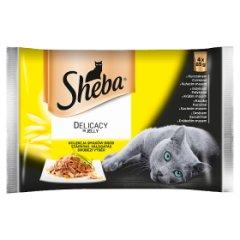 Sheba delik z drobiem 4*85g