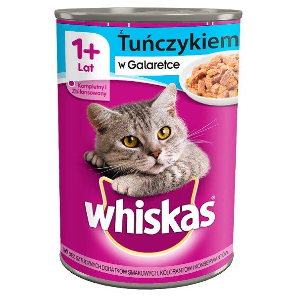 Karma Whiskas (k) z tuńczykiem w galaretce