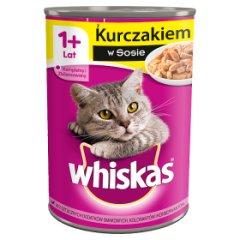 Karma Whiskas z kurczakiem w sosie (K)