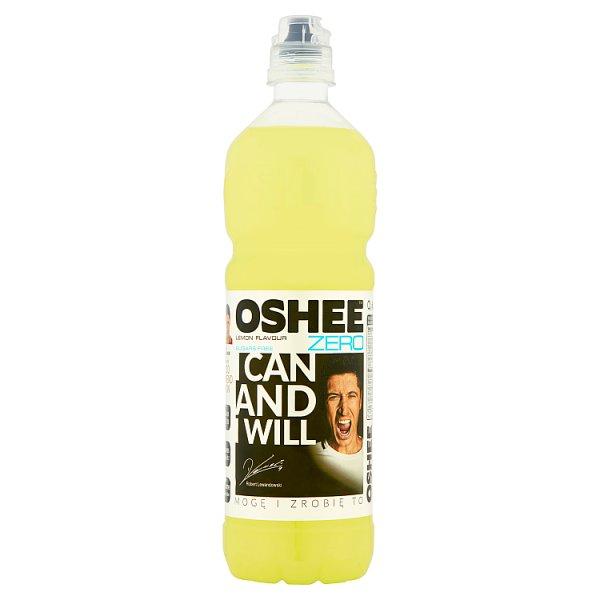 Oshee Zero Lemon napój izotoniczny o smaku cytrynowym