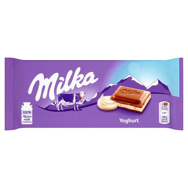 Czekolada Milka jogurtowa