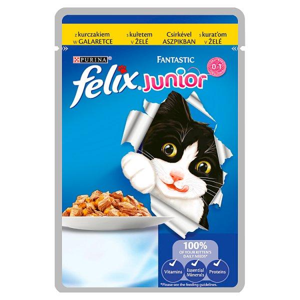 Karma Felix Fantastic z kurczakiem junior (K)