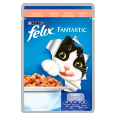 Karma Felix Fantastic  z łososiem