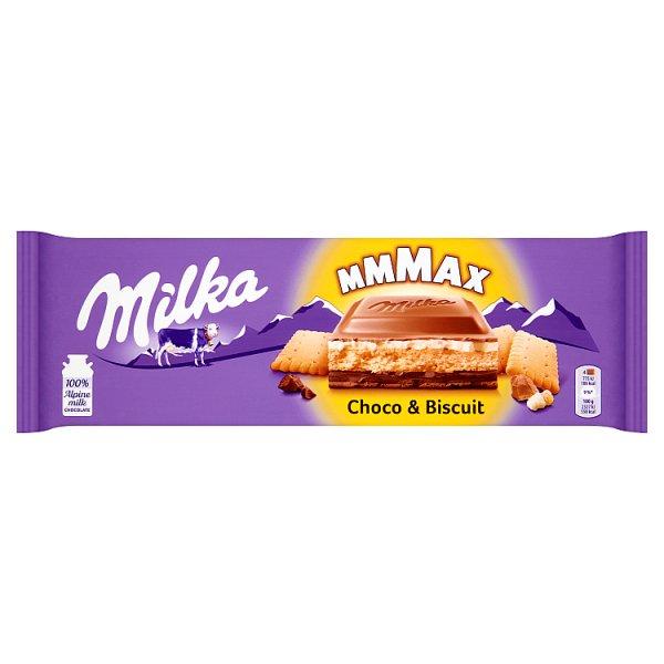 Czekolada Milka Schoko & Biscuit z ciastkiem maślanym