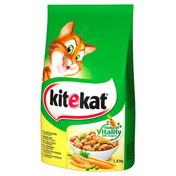 Karma Kitekat z kurczakiem i warzywami (K)