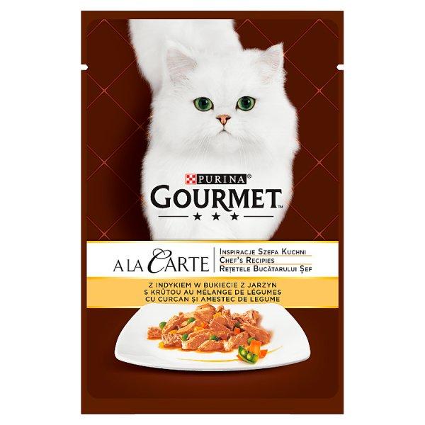 Karma Gourmet A la Carte indyk i warzywa