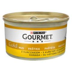 Gourmet Gold mus z drobiem puszka dla kota