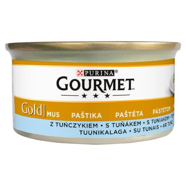 Gourmet Gold Karma dla kotów mus z tuńczykiem 85 g