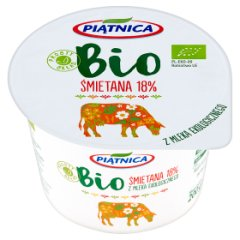 Piątnica Bio Śmietana 18% 200 g