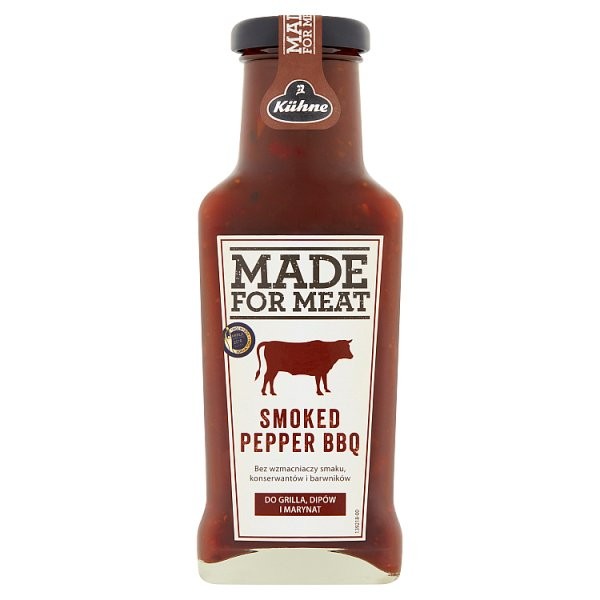 Kühne Made For Meat Smoked Pepper BBQ Sos 235 ml