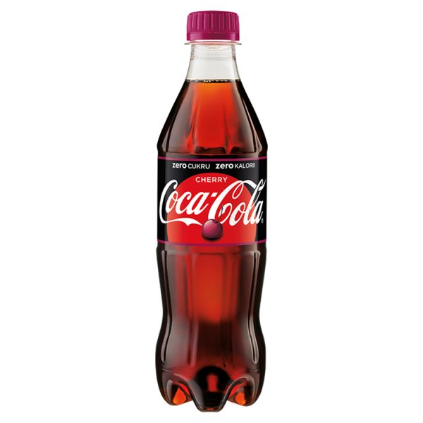 Coca-Cola Cherry Coke butelka 0,5l