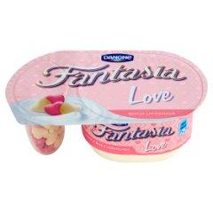 Jogurt fantasia kremowy love z serduszkami