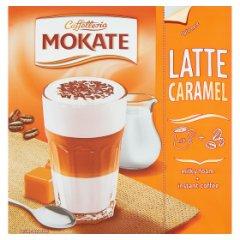Cappuccino latte karmelowe napój kawowy