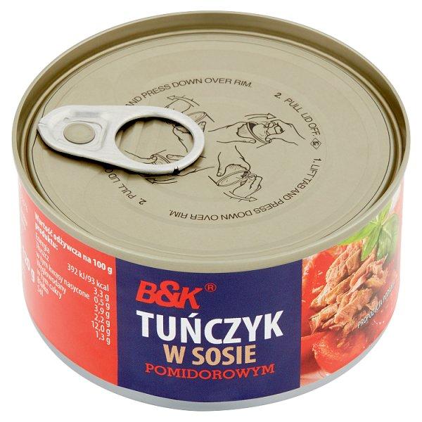 Tuńczyk B&K w pomidorach
