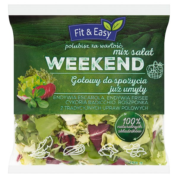 Mix sałat Fit & Easy Weekend