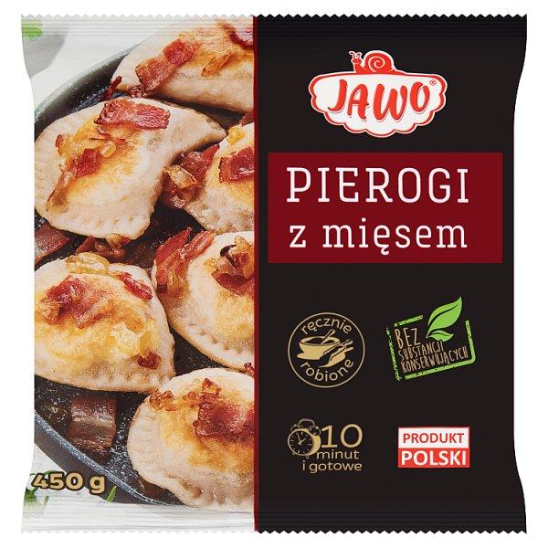 Pierogi domowe z mięsem/450g