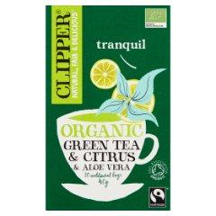 Herbata Clipper Zielona z Aloesem 20*2g