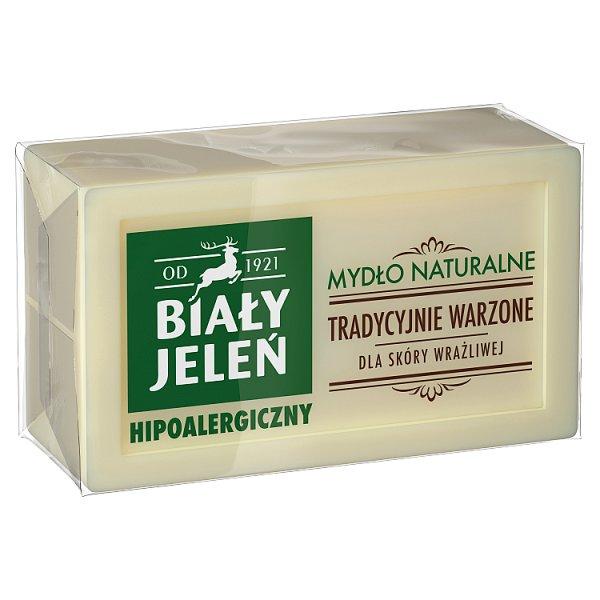 Biały Jeleń Hipoalergiczne mydło naturalne 150 g