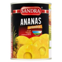 Ananas plastry Sandra
