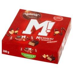 Wawel Michałki z Wawelu Klasyczne Cukierki w czekoladzie 300 g