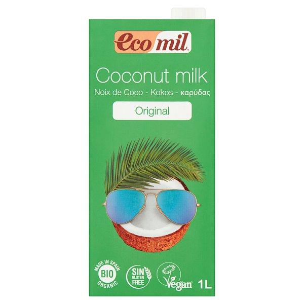 EcoMil Napój kokosowy 1 l