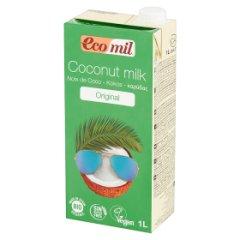 Mleko kokosowe słodzone syropem z agawy 1l bio