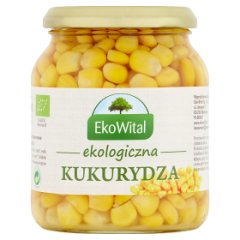EkoWital Ekologiczna kukurydza 340 g