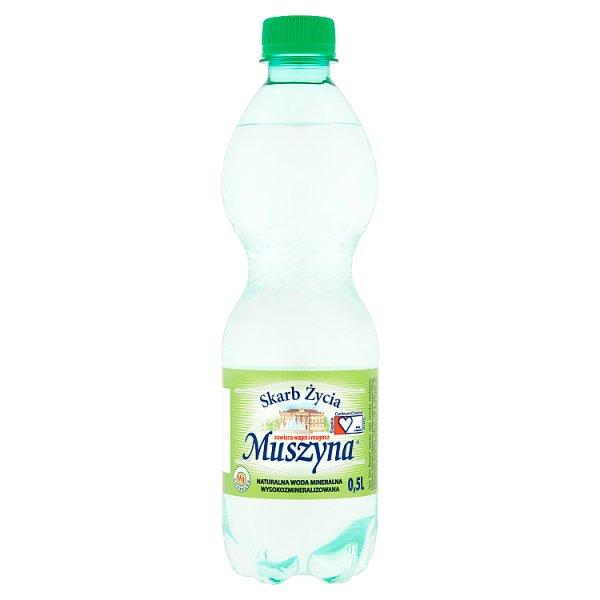 Woda mineralna gazowana skarb życia muszyna