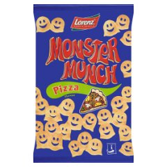Chrupki Monster Munch pizza