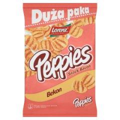Peppies Chrupki ziemniaczano-pszenne o smaku bekonu 100 g