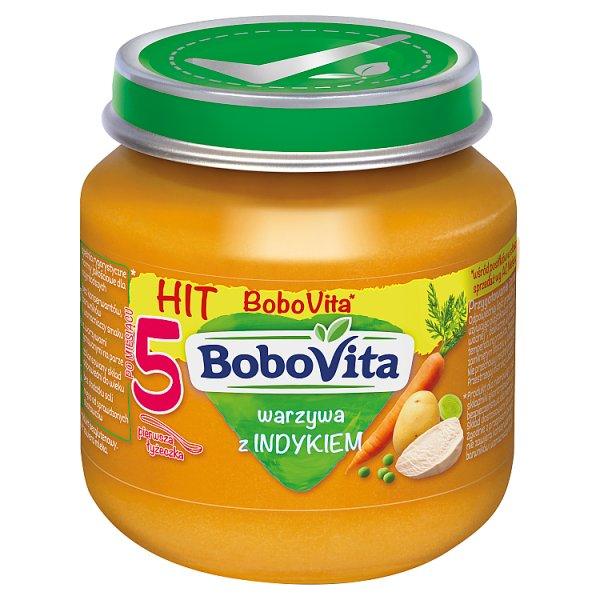 Obiadek Bobovita warzywa z indykiem
