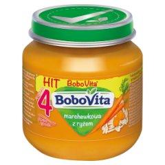 Zupka Bobovita marchewkowa z ryżem