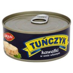 Tuńczyk kawałki w sosie własnym Graal