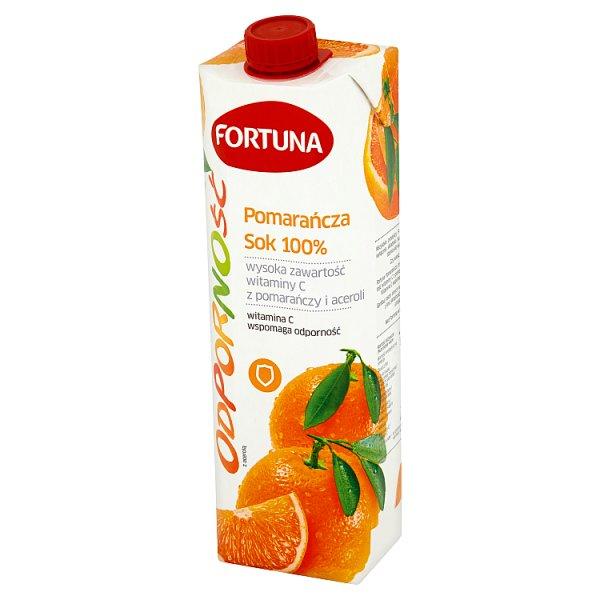 Sok pomarańczowy fortuna odporność