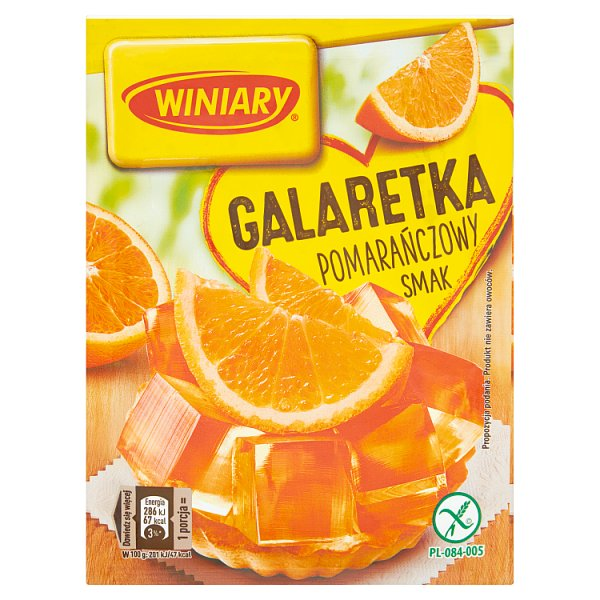 Galaretka Winiary pomarańczowa