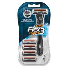 Maszynka do golenia Flex 3 hybrid blister 4 szt