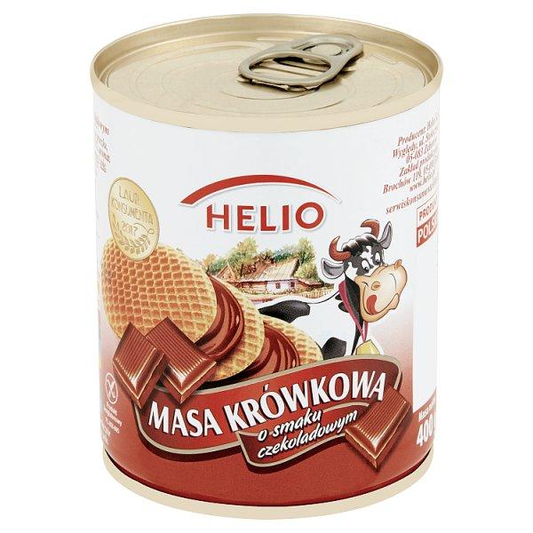 Helio Masa krówkowa o smaku czekoladowym 400 g
